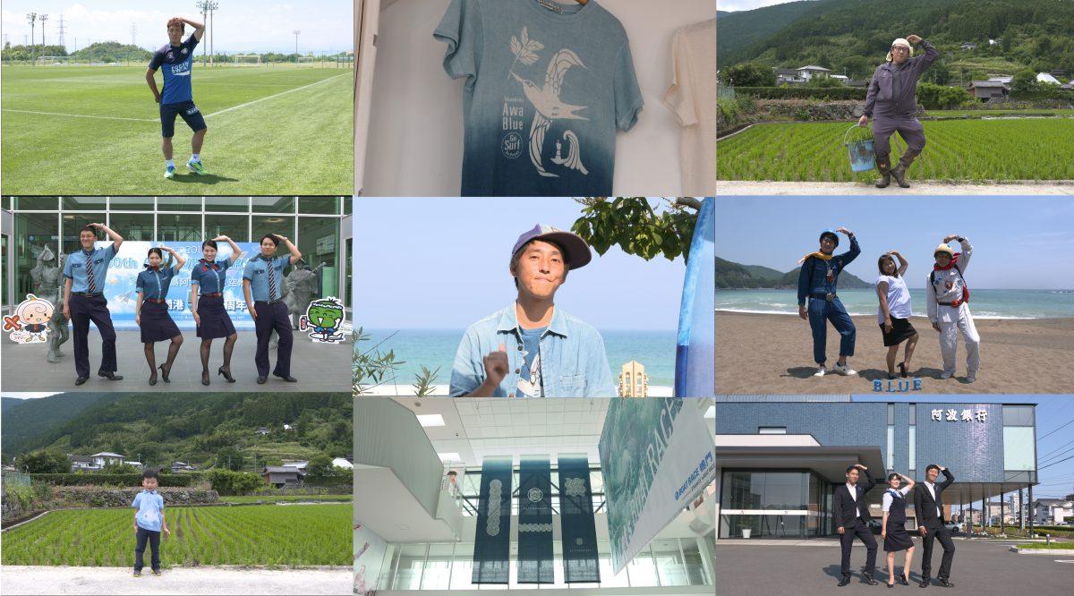 Tokushima blue